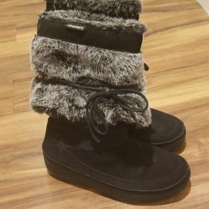 SKECHERS tone-ups winter boots